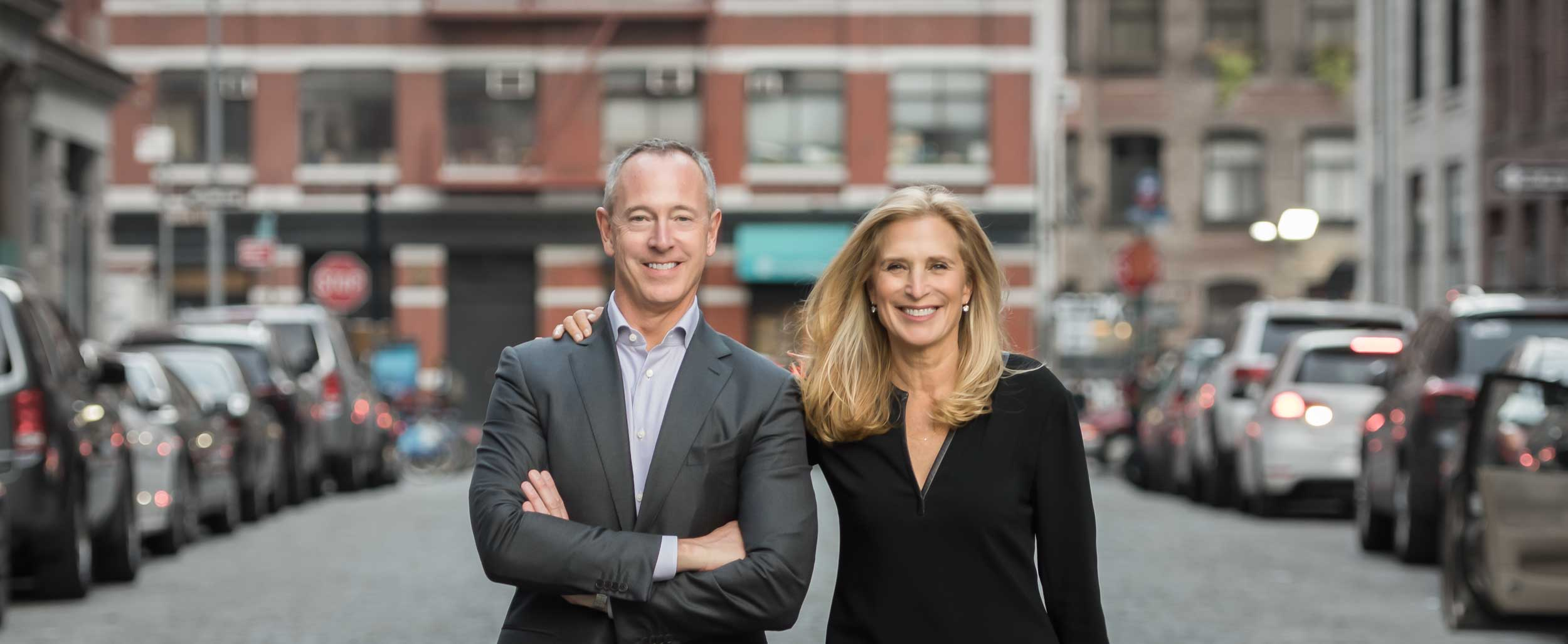 Marylin Prince and Jim Houston of The Prince Houston Group Executive Search Consultants